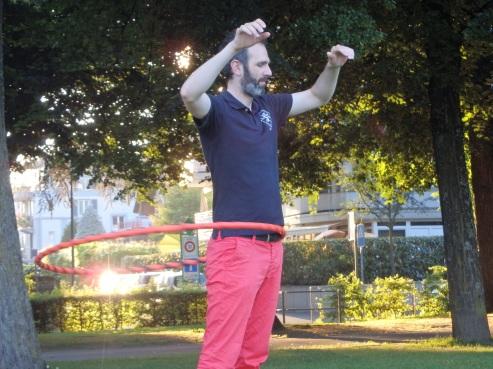 1 juillet 2016, Parc de Milan, Lausanne